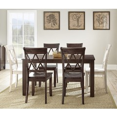Buy Steve Silver Aida 7 Piece 70x42 Rectangular Dining Room Set on sale online