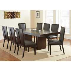 "Buy Steve Silver Antonio 9 Piece 70x44 Rectangular Dining Room Set w/ 18"" Leaf on sale online"