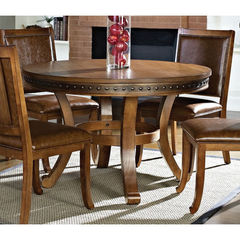 Buy Steve Silver Ashbrook 48 Inch Round Dining Table on sale online