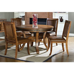 Buy Steve Silver Ashbrook 5 Piece 48x48 Round Dining Room Set on sale online