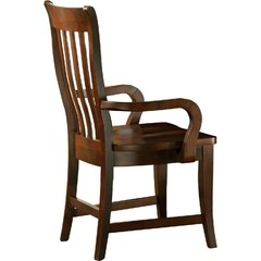 Buy Steve Silver Bella Slat Back Arm Chair in Cherry on sale online
