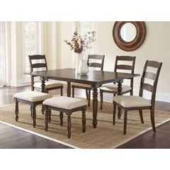 Buy Steve Silver Bexley 7 Piece 69x30 Rectangular Dining Room Set on sale online