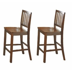 Buy Steve Silver Branson Counter Chair in Honey Spice (Set of 2) on sale online