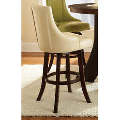 Buy Steve Silver Brooks 30 Inch Swivel Bar Stool in Taupe on sale online