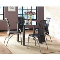 Buy Steve Silver Calvin 5 Piece 50x38 Rectangular Dining Room Set on sale online