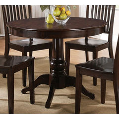 Buy Steve Silver Candice 42x42 Round Dining Table in Dark Espresso on sale online