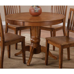 Buy Steve Silver Candice 42x42 Round Dining Table in Oak on sale online