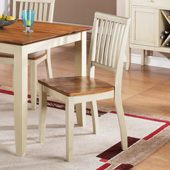 Buy Steve Silver Candice Side Chair in Oak and White on sale online