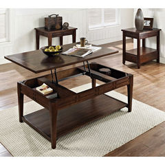 Buy Steve Silver Crestline 3 Piece 48x30 Occasional Table Set on sale online