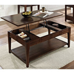 Buy Steve Silver Crestline 48x30 Lift Top Cocktail Table w/ Casters on sale online
