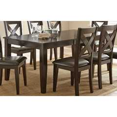 Buy Steve Silver Crosspointe 78x42 Rectangular Dining Table on sale online