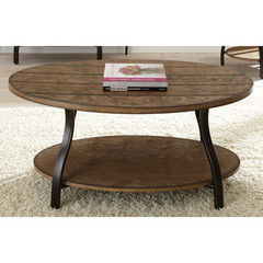 Buy Steve Silver Denise 47x31 Oval Cocktail Table on sale online