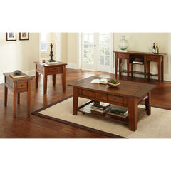 Buy Steve Silver Desoto 4 Piece 50x32 Occasional Table Set on sale online