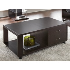 Buy Steve Silver Ella 47x28 Rectangular Cocktail Table w/Casters on sale online