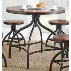 Buy Steve Silver Fiona 36x36 Round Dining to Counter Table on sale online