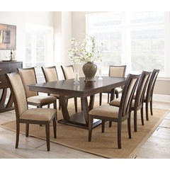 Buy Steve Silver Gabrielle 9 Piece 96x44 Dining Room Set on sale online