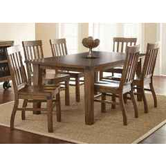 Buy Steve Silver Hailee 7 Piece 78x42 Rectangular Dining Room Set on sale online