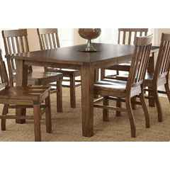 Buy Steve Silver Hailee 78x42 Rectangular Dining Table in Distressed Antique Oak on sale online