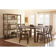 Buy Steve Silver Hailee 8 Piece 54x36 Rectangular Counter Height Set on sale online