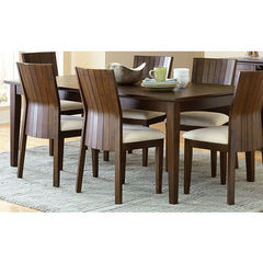 Buy Steve Silver Harlow 60x42 Dining Table w/ 18 Inch Leaf on sale online
