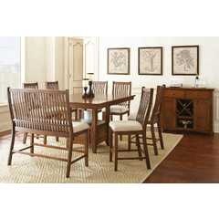 Buy Steve Silver Kayan 9 Piece 48x48 Square Counter Height Set on sale online