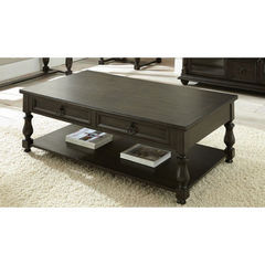 Buy Steve Silver Leona 55x31 Cocktail Table w/ Casters on sale online