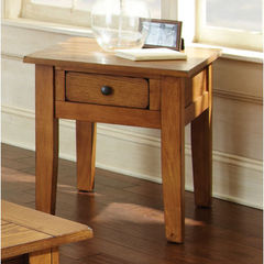Buy Steve Silver Liberty 27x23 End Table in Oak on sale online