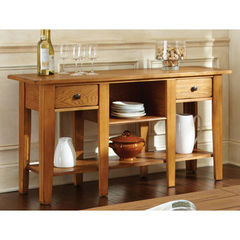 Buy Liberty 58x16 Sofa Table in Oak on sale online