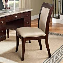 Buy Steve Silver Marseille Transitional Desk Chair in Brown, Beige on sale online