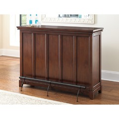 Buy Steve Silver Martinez 56x18 Counter Bar w/ Foot Rail in Cherry on sale online