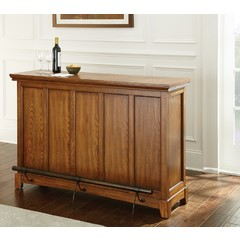 Buy Steve Silver Martinez 56x18 Rectangular Counter Bar w/ Foot Rail on sale online