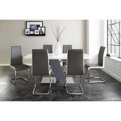 Buy Steve Silver Nevada 7 Piece 71x35 Rectangular Dining Room Set on sale online