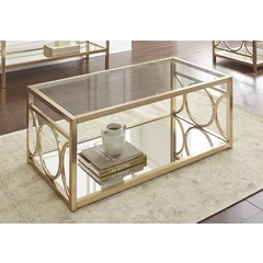 Buy Steve Silver Olympia 47x24 Rectangular Cocktail Table on sale online