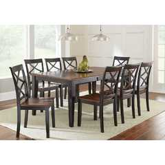 Buy Steve Silver Rani 9 Piece 72x42 Rectangular Dining Room Set on sale online