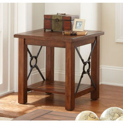 Buy Steve Silver Rosewood 24x22 End Table on sale online