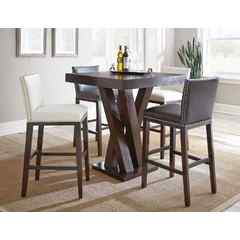 Buy Steve Silver Tiffany 5 Piece 36 Inch Square Bar Table Set on sale online