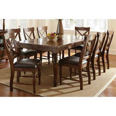 Buy Steve Silver Wyndham 9 Piece 66x42 Dining Room Set on sale online