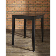 Buy Crosley Furniture Tapered Leg 32x32 Pub Table in Black on sale online