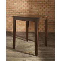 Buy Crosley Furniture Tapered Leg 32x32 Pub Table in Vintage Mahogany on sale online