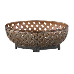 Buy Uttermost Teneh Bowl in Copper Bronze on sale online