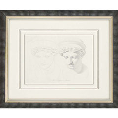 Buy Paragon Tete de la Junon Framed Wall Art (Set of 2) on sale online