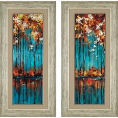 Buy Paragon The Mirror 22x46 Framed Wall Art (Set of 2) on sale online