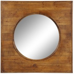 Buy Cooper Classics Thorton Mirror in Natural Wood on sale online