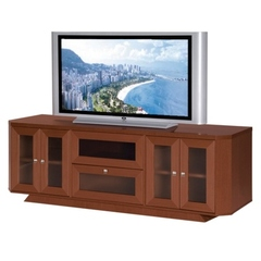 Buy Furnitech Transitional 70 inch Media Console in Dark Cherry on sale online