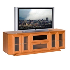 Buy Furnitech Transitional 70 inch Media Console in Light Cherry on sale online