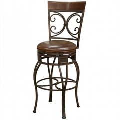 Buy American Heritage Treviso 34 Inch Tall Barstool in Pepper on sale online