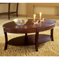 Buy Steve Silver Troy 48x28 Cocktail Table in Rich Cherry on sale online