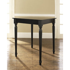 Buy Crosley Furniture Turned Leg 32x32 Pub Table in Black on sale online