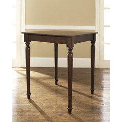 Buy Crosley Furniture Turned Leg 32x32 Pub Table in Vintage Mahogany on sale online
