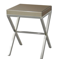 Buy Uttermost Lexia 20 Inch Square Modern Side Table on sale online